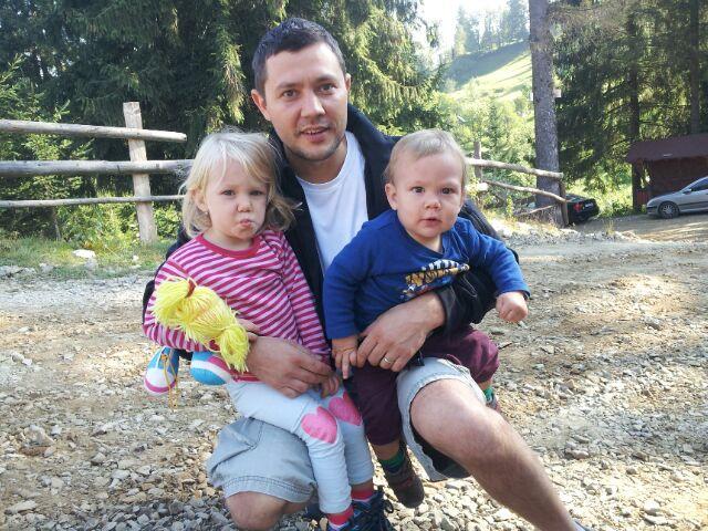 primul traseu montan cu copiii